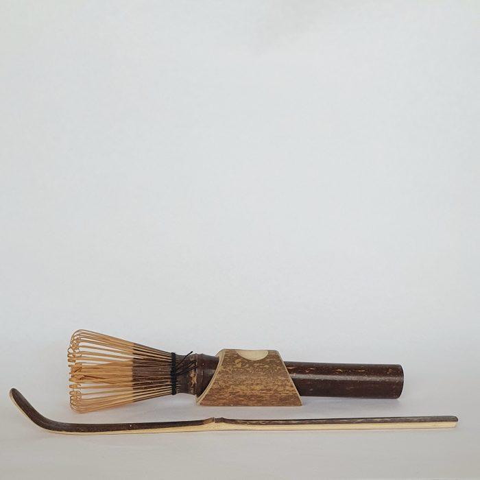 Bamboo Matcha set brown